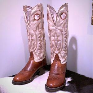 TONY LAMA Vintage Buckaroo 1070-L Knee High Boots